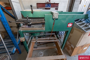 Vacuum Forming Machine on Timber Stand