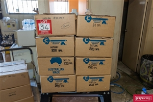 8x Boxes Assorted Hard Surface Polishing