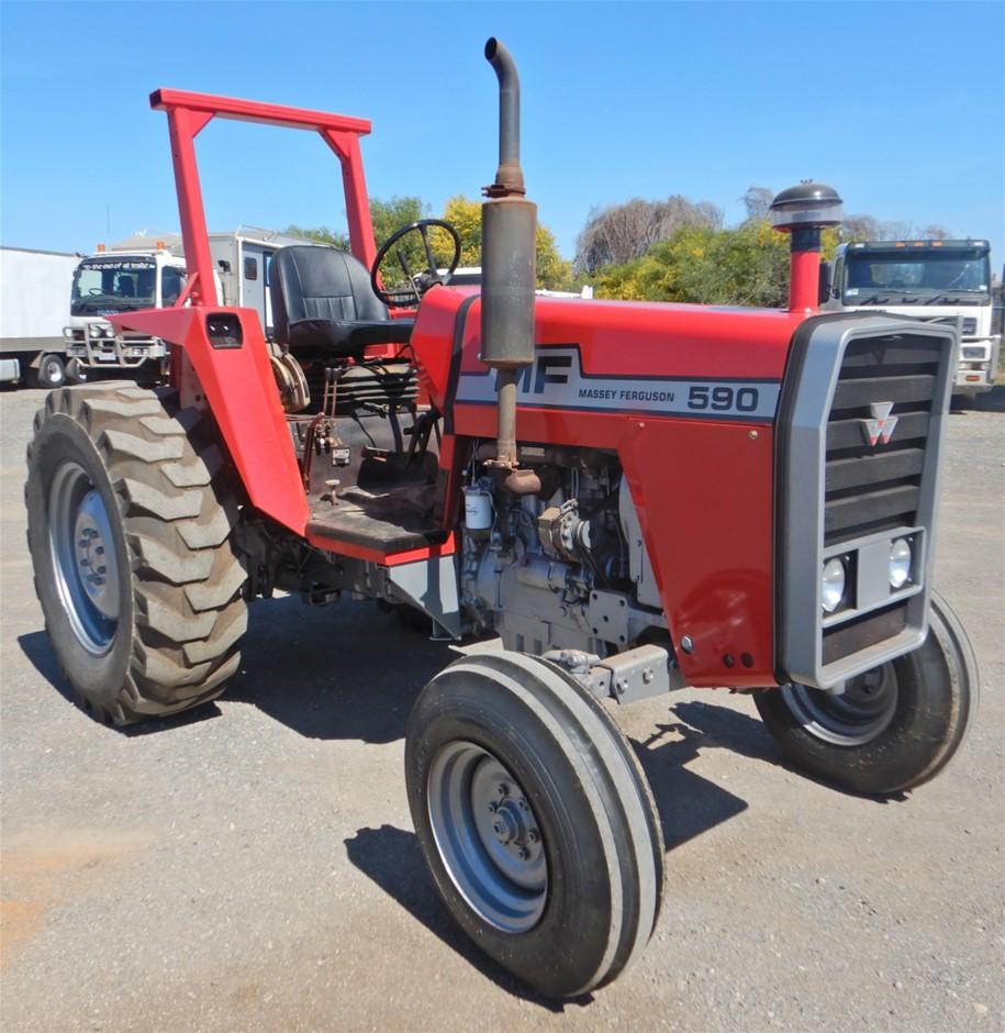 Massey Ferguson 590 Tractor (Pooraka, SA)