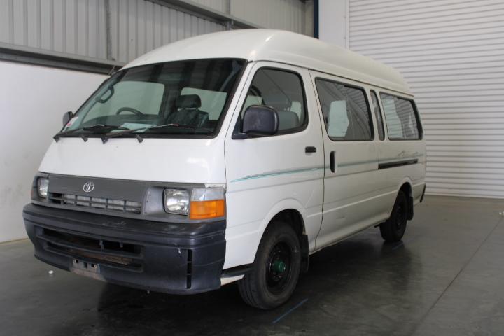 1998 Toyota Hiace Commuter LH125R Manual Camper