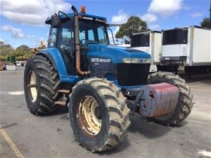New Holland 8970 SuperSteer Tractor