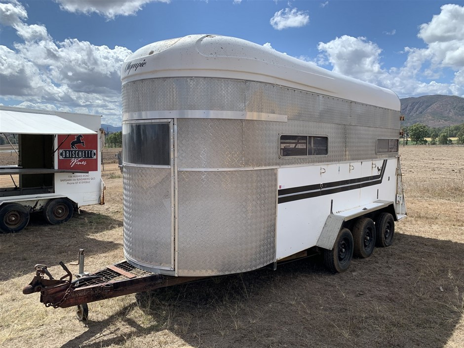 Olympic Triaxle Horse Float Trailer