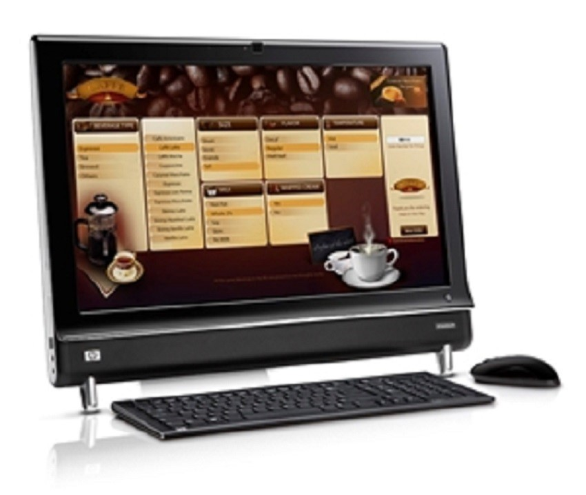 HP TouchSmart 9100 All-in-One Business Desktop PC