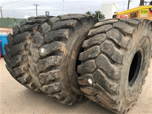 3x Michelin Machine Tyres