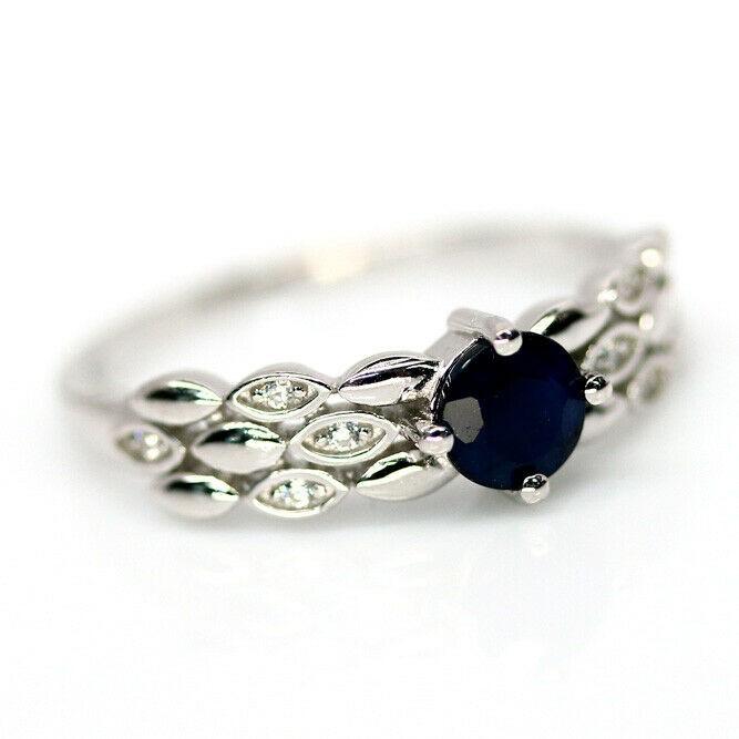 Genuine Midnight Blue Ring.