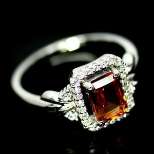 Beautiful Striking Genuine Citrine Ring.