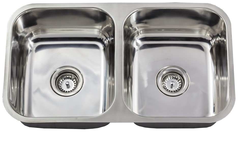 Richmond 780 x 450 Dbl - U/Mount Sink .8mm