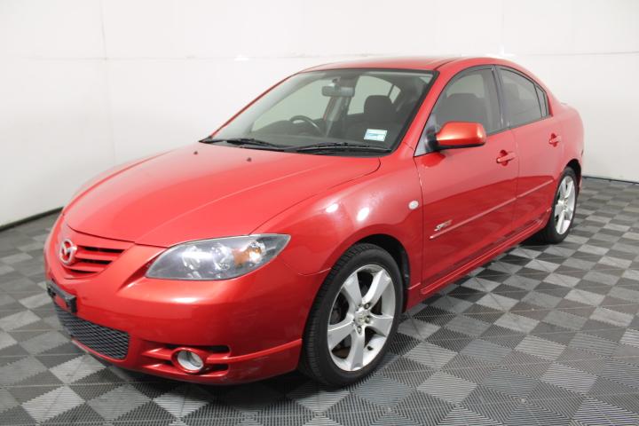 2005 Mazda 3 SP23 BK Manual Sedan