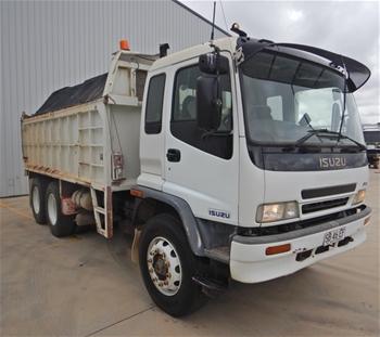 2001 Isuzu FVZ 6x4 Tipper Truck