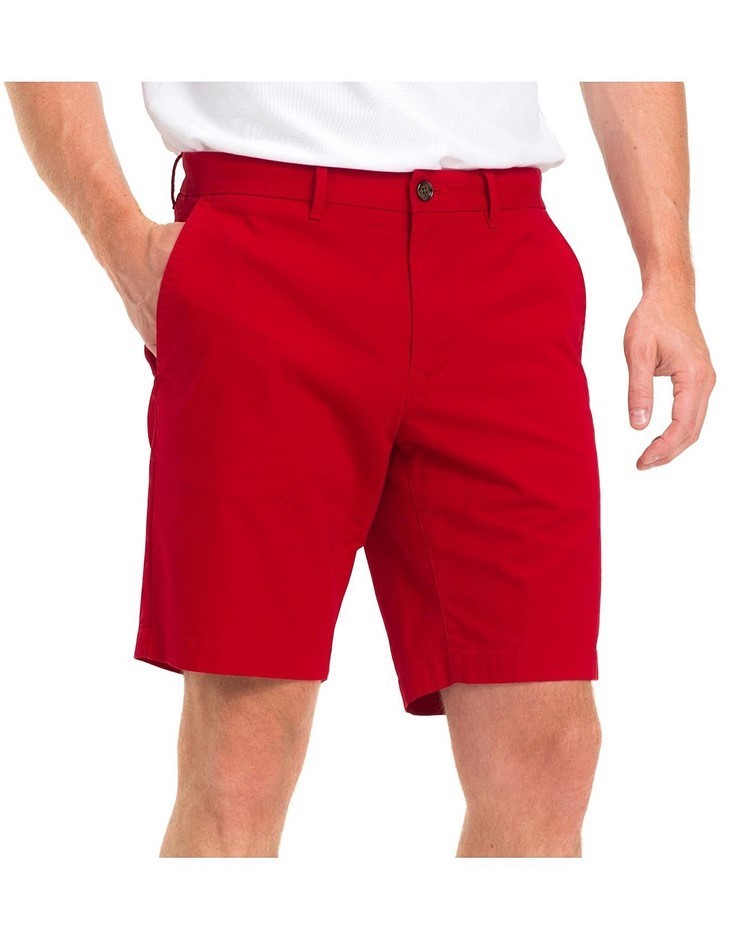 TOMMY HILFIGER Wcc Brooklyn Short Boston Twill. Size: 40, Colour: Haute Red