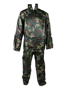 Military Style Rain Suit, Size L, Jacket