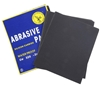 100 x Sheets Abrasive Paper, Water Proof Silicon Carbon, Grit 320, Sheet Si