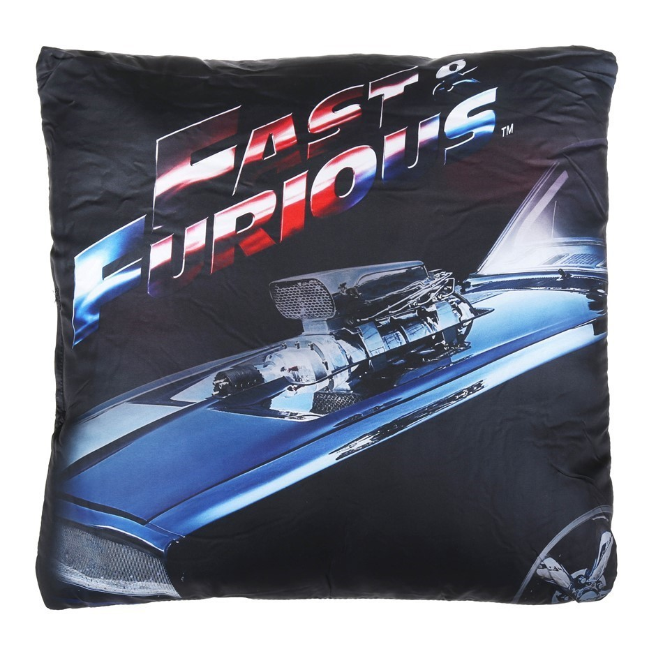 2 x FAST & FURIOUS Cushions. Buyers Note - Discount Freight Rates Apply to