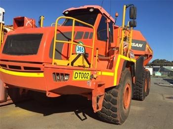 2012 Doosan Moxy DA40 Articulated Dump Truck