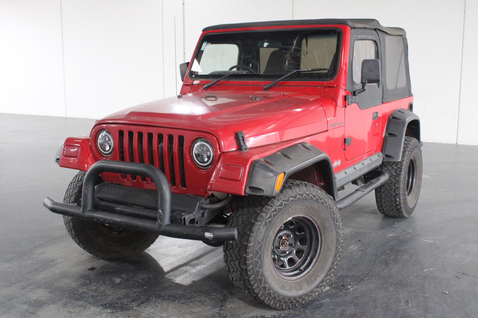 1999 Jeep Wrangler Sport (4x4) TJ 3 auto Wagon