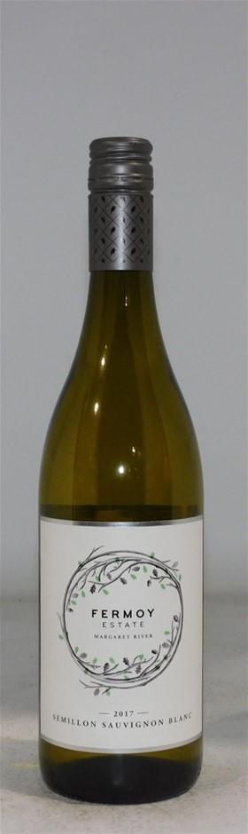 Fermoy Estate Semillon Sauvignon Blanc 2017 (6x 750mL), WA. Screwcap.