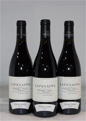 Tapanappa Foggy Hill Pinot Noir 2017 (3x 750mL), SA, Cork.
