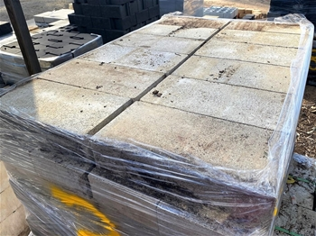 Pallets of Landscaping Blocks