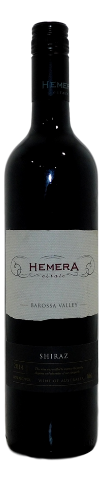 Hemera Estate Shiraz 2014 (1x 750mL), Barossa, SA