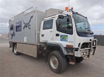 2006 Isuzu FTS 4x4 Camper Truck