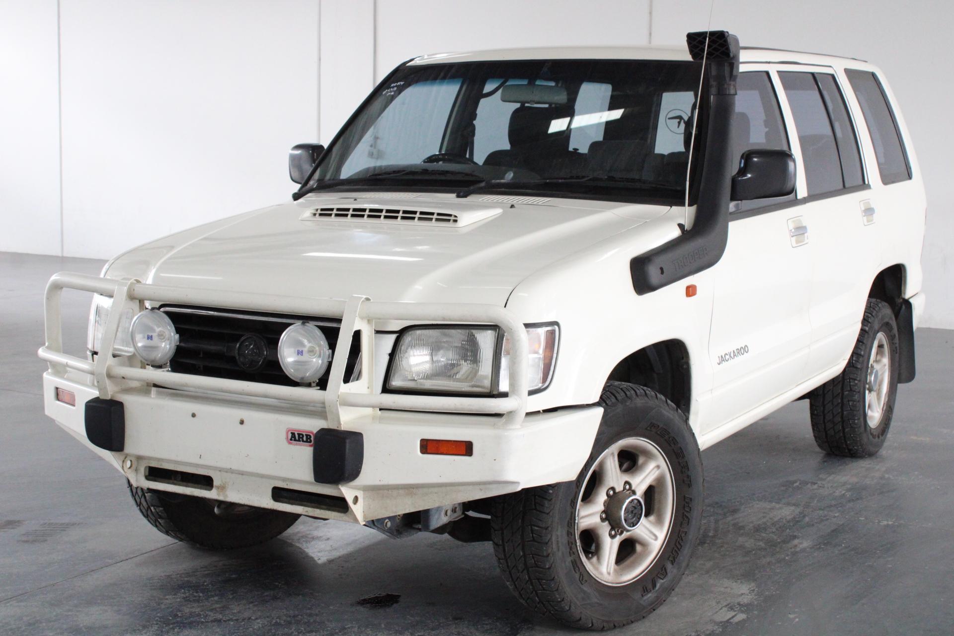 2000 Holden Jackaroo Olympic Edition Turbo Diesel Manual 7 Seats Wagon