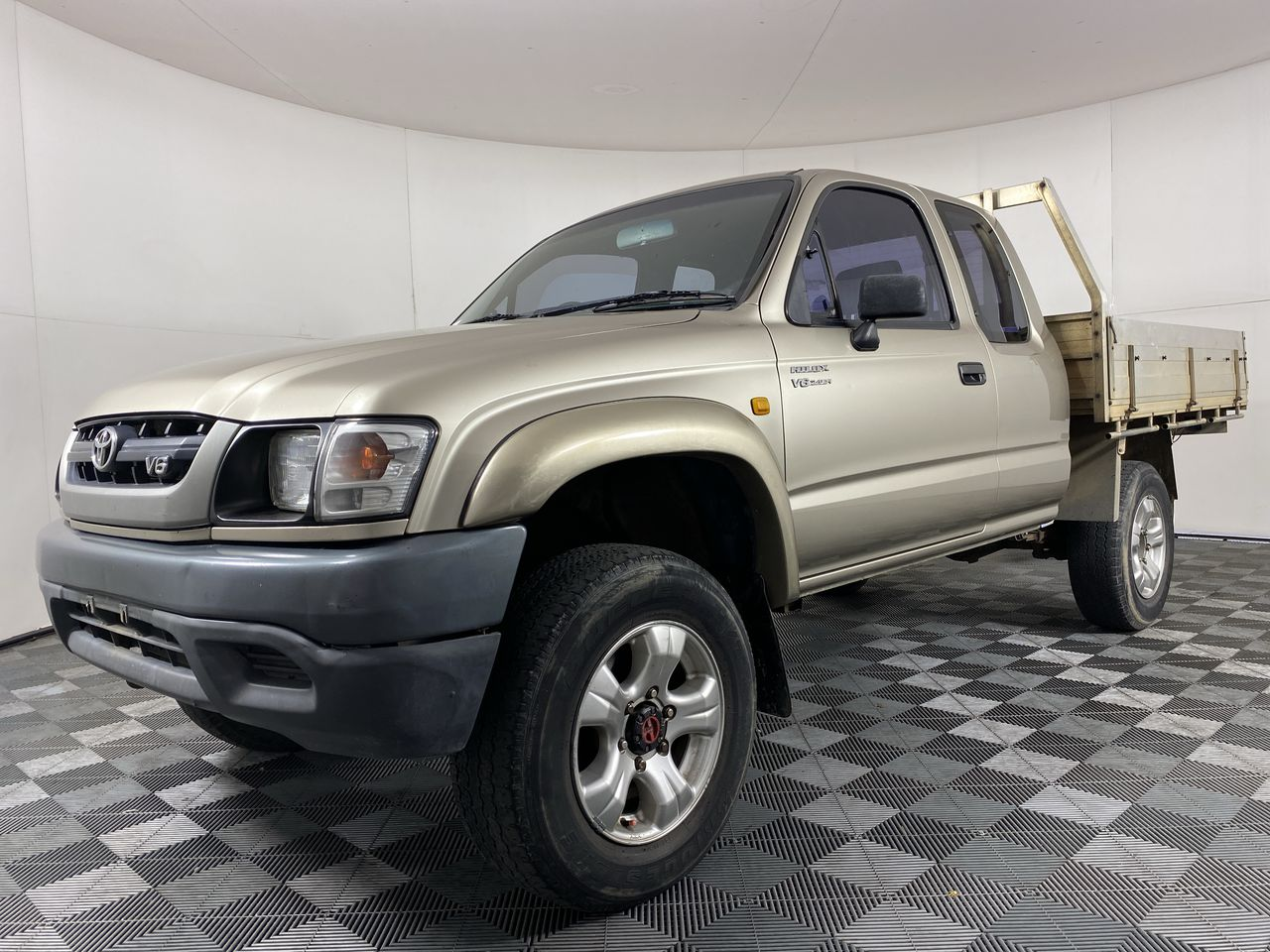 2002 Toyota Hilux (4x4) Automatic Extra Cab Ute