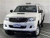 2015 Toyota Hilux SR (4x4) KUN26R T/D Automatic Cab Chassis