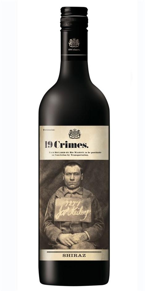 19 Crimes Shiraz 2019 (6x 750mL). SA
