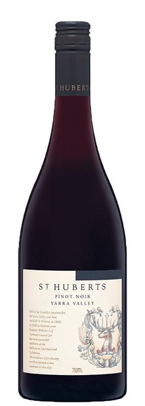 St Huberts Pinot Noir 2017 (6x 750mL).