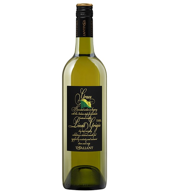 "T'Gallant ""Grace"" Pinot Grigio 2019 (6x 750mL)."