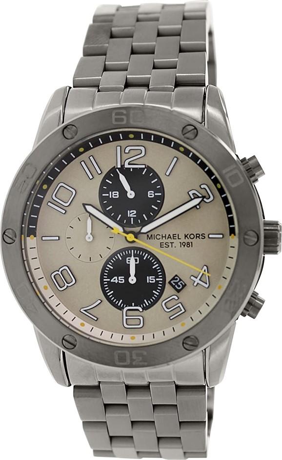 Active new Michael Kors Mercer Chronograph Men's Watch.