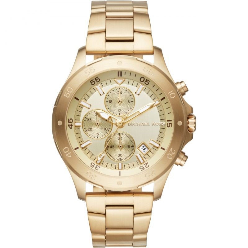 Striking new Michael Kors Chronograph Men's watch.