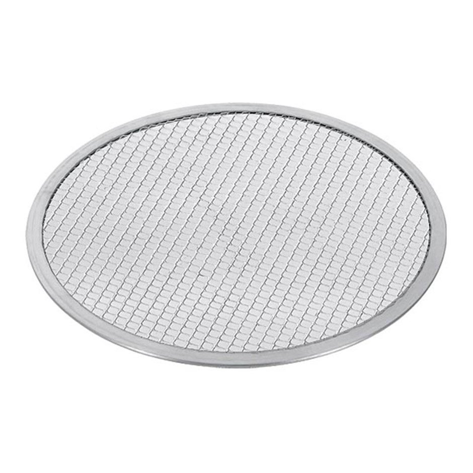 SOGA 8-inch Seamless Aluminium Nonstick Commercial Grade Pizza Screen Pan