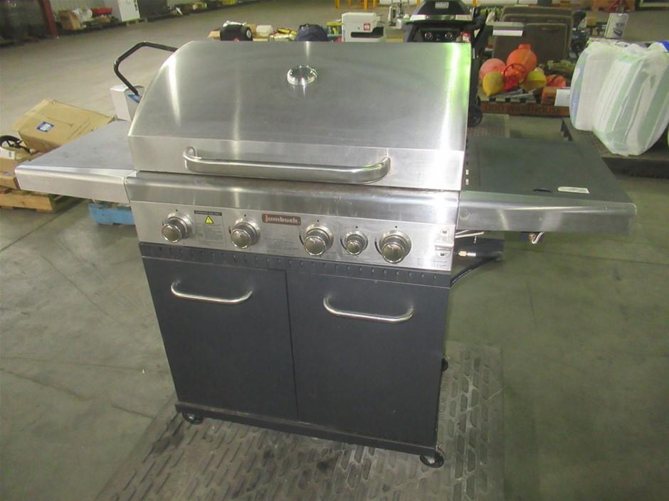 JUMBUCK 4 Burner Gas BBQ (Pooraka, SA)