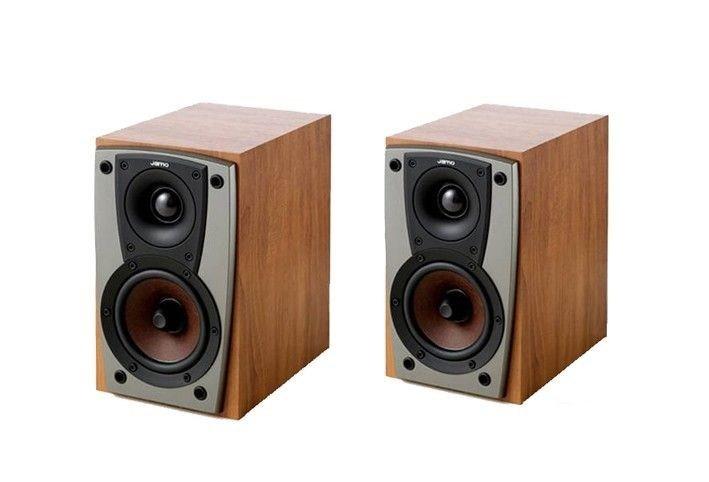 Jamo C401 Compact Bookshelf Speakers (Pair) (Dark Apple)
