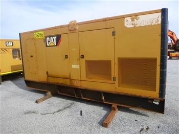 2013 Caterpillar 550 KVA Silenced Enclosed Generator (MR313)