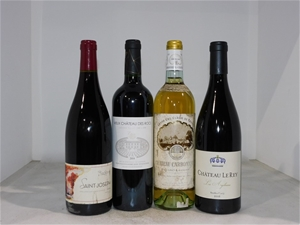 Pack of Assorted French Wine (4x 750mL),