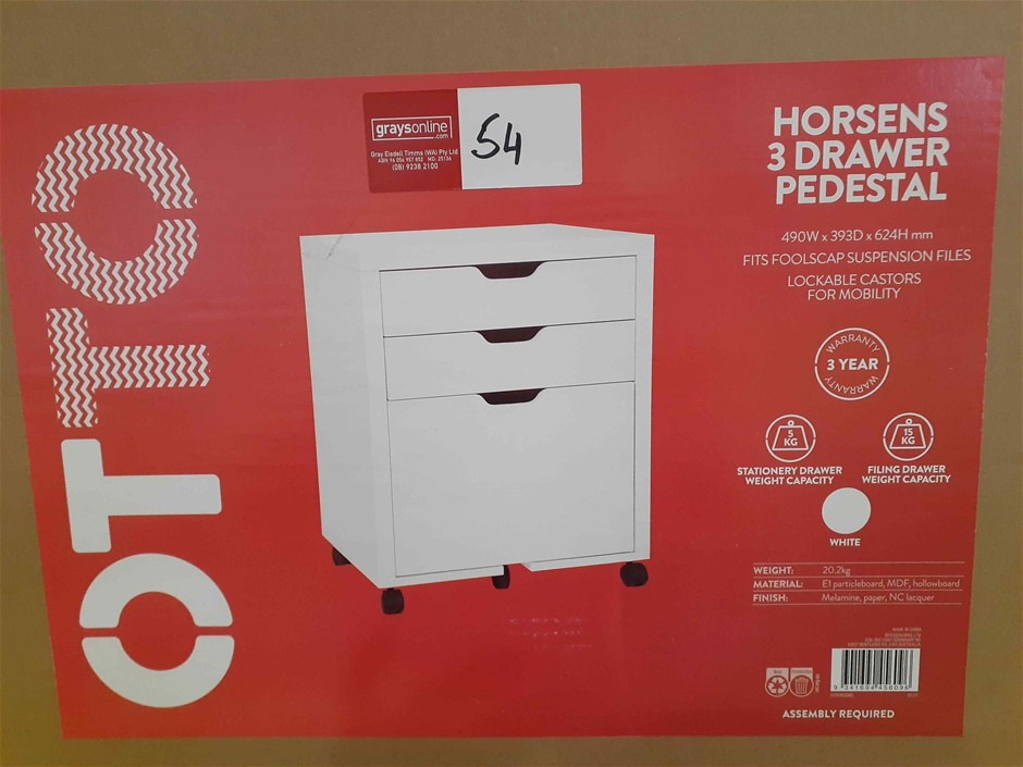 3 Drawer Cabinet (New)