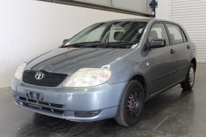 2001 Toyota Corolla Ascent Seca ZZE123R Automatic Hatchback