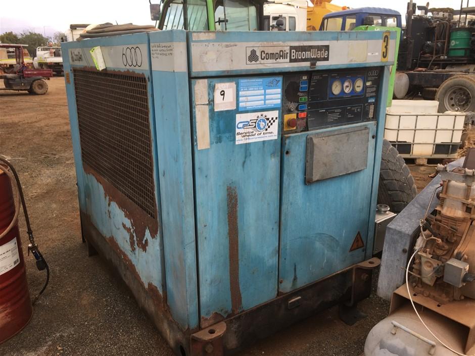 1994 Compare 6000 3 Phase Electric driven Air Compressor
