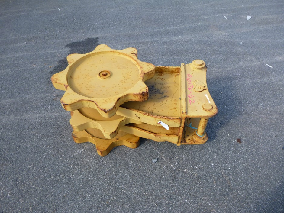 460mm WIDE COMPACTION WHEEL WITH 630mm DIAMETER OF WHEELS