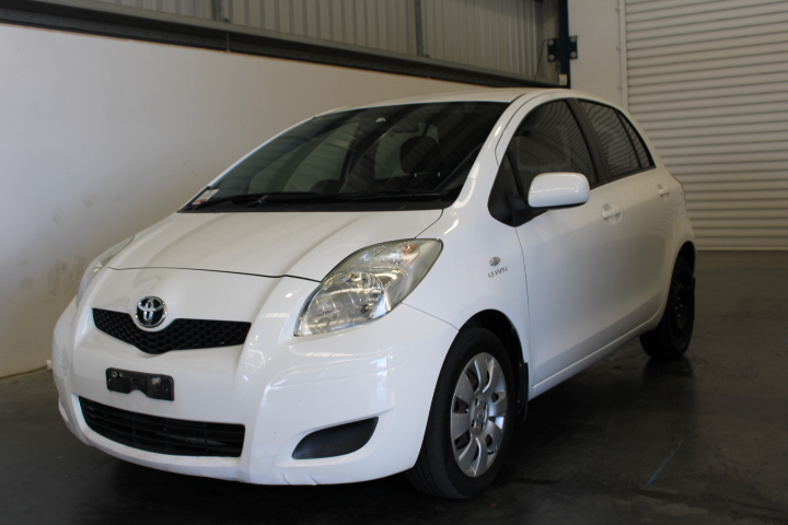 2010 Toyota Yaris YRS NCP91R Automatic Hatchback 118,794km