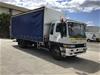 1998 Hino GD1J 4 x 2 Curtainsider Rigid Truck
