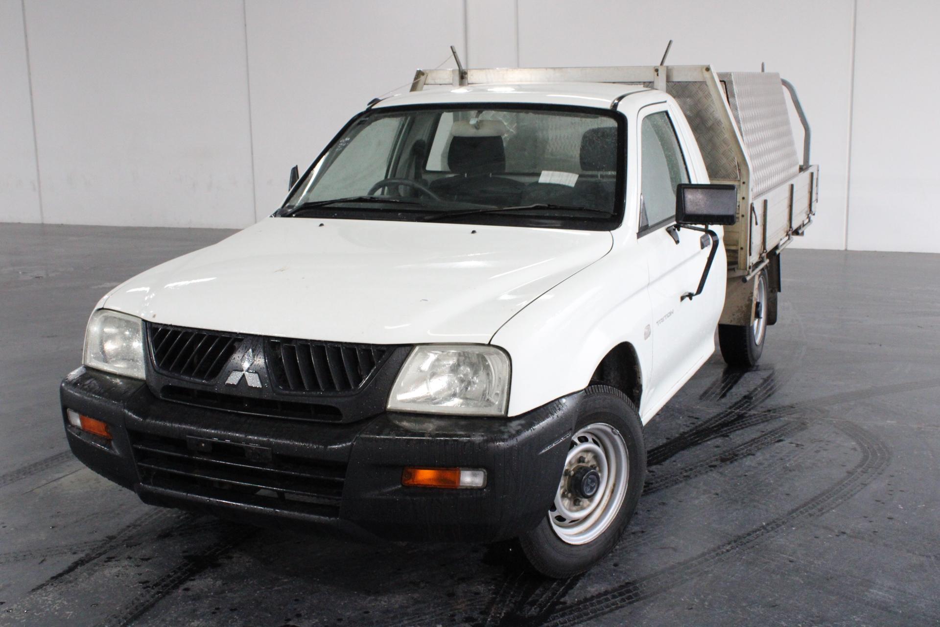 2005 Mitsubishi Triton GL MK Manual Cab Chassis