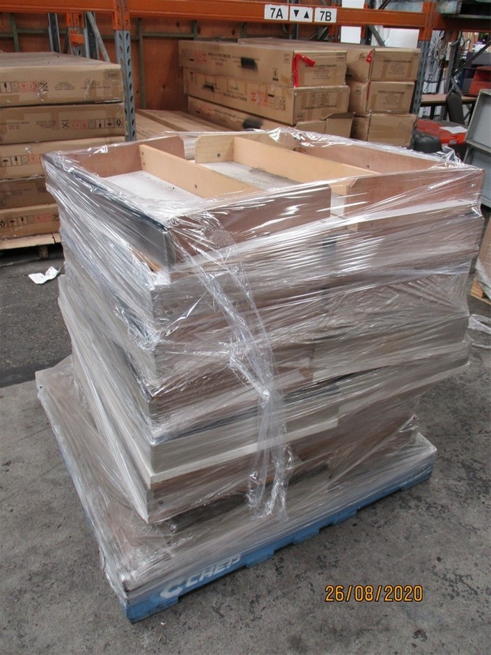 1 Pallet of Timber Shelving Panels