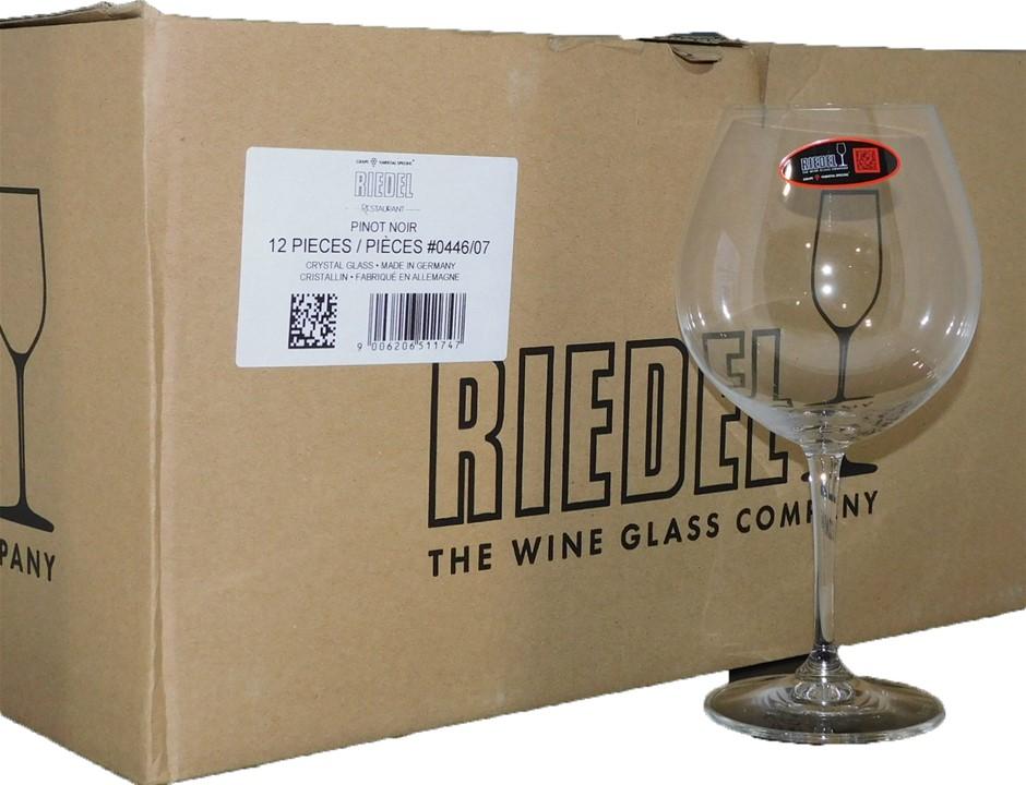 Riedel Crystal Glass Pinot Noir Glasses (12 x Glasses)