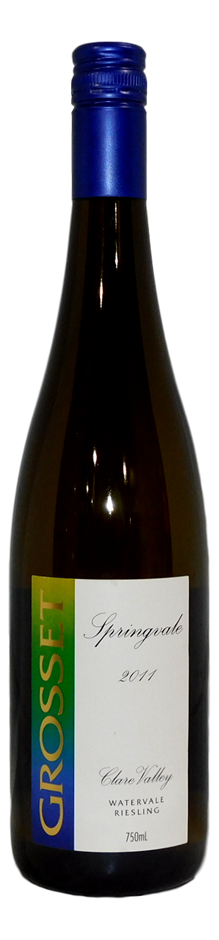 Grosset Springvale Riesling 2011 (6x 750mL), Clare Valley, SA.