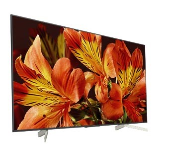 SONY BRAVIA 75ins Television Model # KD-75X8500F c/w Remote Control, Power