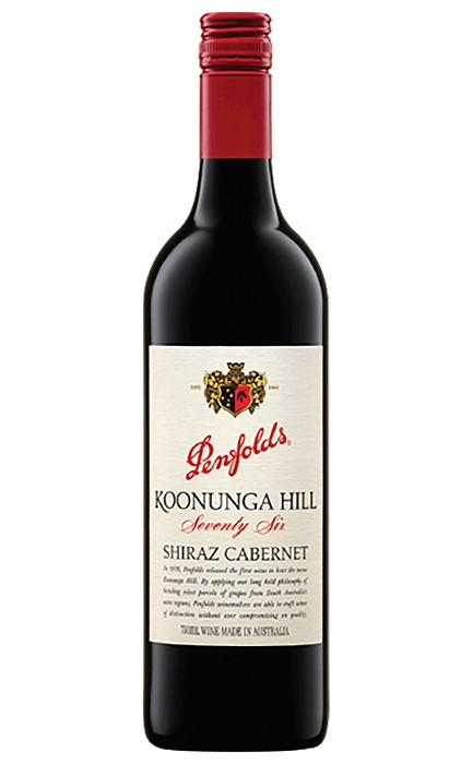Penfolds Koonunga Hill Seventy-Six Shiraz Cabernet 2018 (6x 750mL).