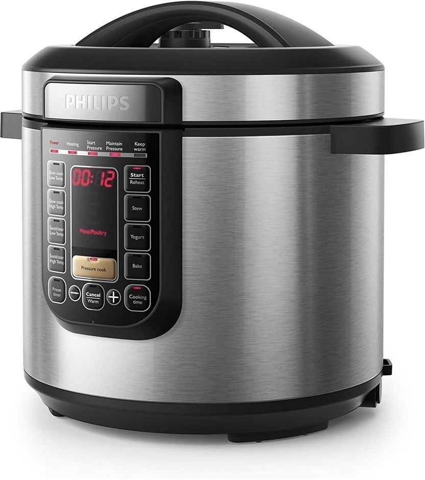 PHILIPS All-In-One Special Edition Cooker 6L 1300W with 2 x Inner Pots. (SN